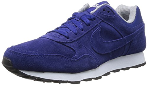 Nike Md Runner Prm Scarpe sportive, Uomo, Dp Ryl Blue/Dp Ryl Bl-Wlf Gry, 44
