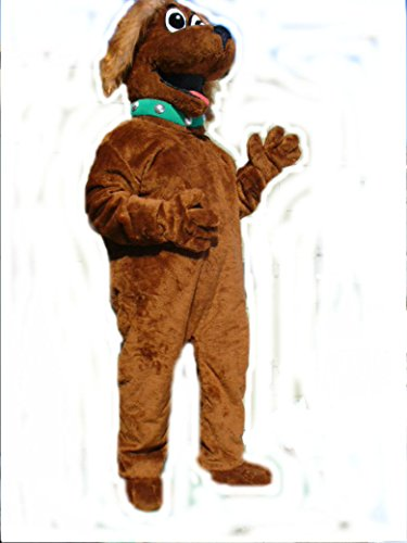 Mascots USA by CJs Huggables Custom Pro Low Cost Golden Dog Mascot Costume