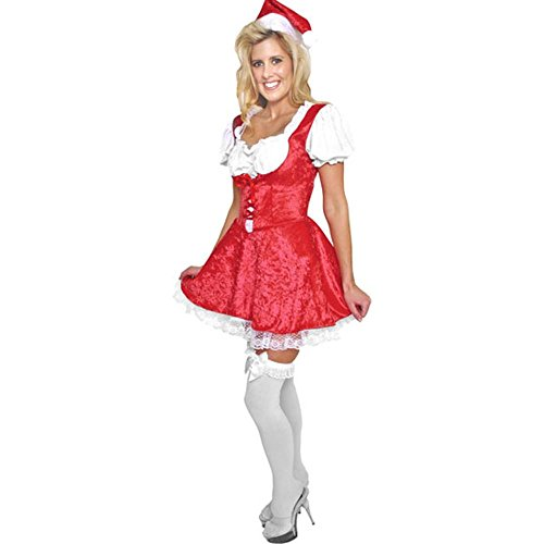 Adult Sexy Mrs. Santa Costume (Size: Large 14-16)