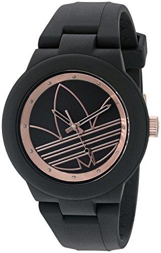 adidas Women's ADH3086 Aberdeen Analog Display Analog Quartz Black Watch