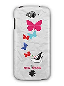 YuBingo New Shoes & Butterflies Mobile Case Back Cover for Acer Liquid Jade 530