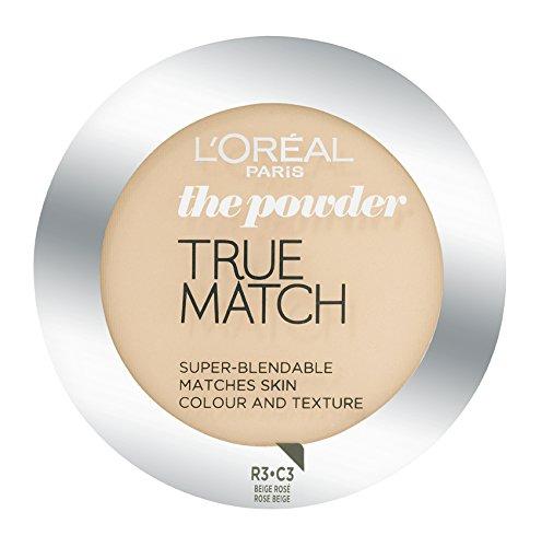 L'Oréal Paris True Match, Cipria, C3 Rose Beige, 9 g