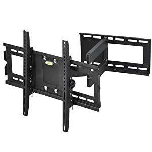 The Best  tinxs TV Wall Mount Bracket Swivel Tilt 32 40 46 50 55 60 63 Inch Plasma 3D LED LCD