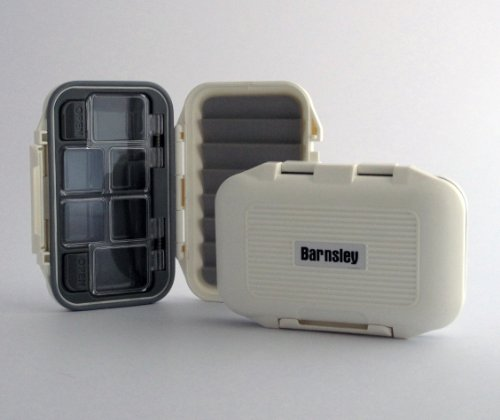 Plastic Waterproof Fly Box - White