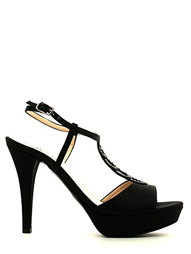 Grace shoes 2079 Sandalo tacco Donna Nero 39