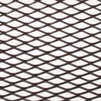 Alu-Renngitter StreckgitterDesign mittel, gerade schwarz 20x110cm