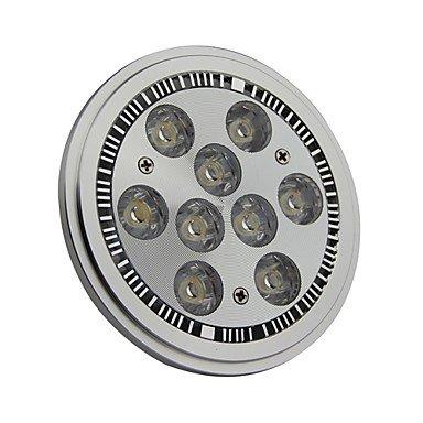 Rayshop - Dimmable Ar111 G53 9W 900Lm 3000K Warm White Led Spot Lamp Light(Ac100-130V)