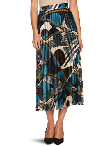 James Lakeland 00-1908J Maxi Women's Skirt Peacock/Blue