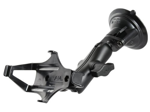 Ram Mount RAM-B-166-GA7U Suction Cup Mount for Garmin GPSMAP 176, 176C, 196, 276C, 296, 376C, 396, 496, 378, 478