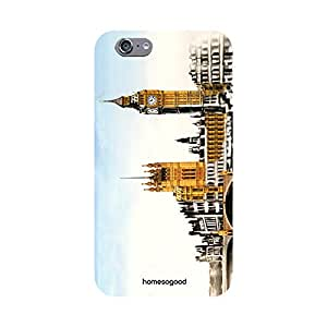 HomeSoGood Big Ben London Multicolor Mobile Cover For iPhone 6S (Back Cover)