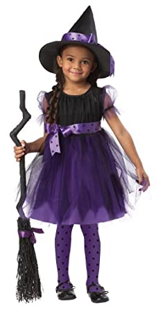 Charmed Witch Costume-Black/Purple