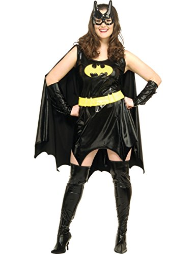 Fancy Dress Adult Costume - Batgirl - Plus Size - 16 / 22