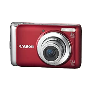 Canon PowerShot 12.1 MP Digital Camera with 4x Optical Image Stabilized Zoom and 2.7-Inch LCD
