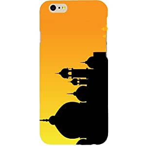 Casotec Mosque Design Hard Back Case Cover for Apple iPhone 6 / 6S