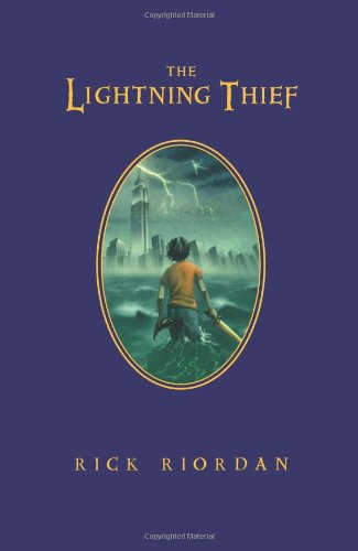 Cover of The Lightning Thief (Percy Jackson and the Olympians, Book 1) (Deluxe Edition)