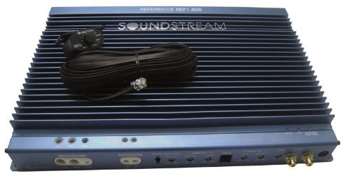 Ref1.500 - Soundstream Monoblock 500 Watt Rms Reference Series Power Amplifier