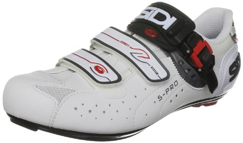 Sidi Men's Genius 5 Pro Mega White Cycling Shoe 74917 14 UK