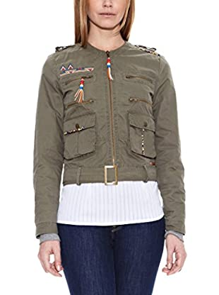 Pepe Jeans London Chaqueta Glastonbury (Caqui)