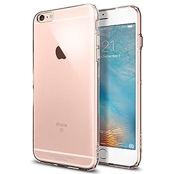 02. Spigen® [Capsule] SOFT-FLEX [Crystal Clear] Premium Clear Flexible Soft TPU Case for iPhone 6s Plus