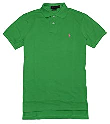 Polo Ralph Lauren Men's Custom Fit Mesh Pony Shirt