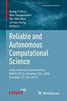 Reliable and Autonomous Computational Science Front Cover