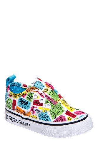Vans Toddlers' Authentic V Slip On Sneaker