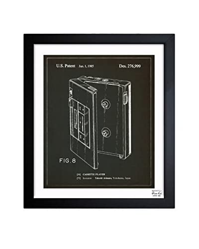 Oliver Gal Cassette Player, 1985 Framed Art