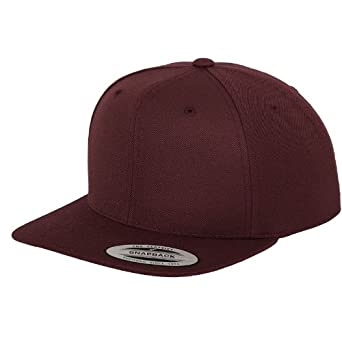 Yupoong The classic snapback Maroon One Size