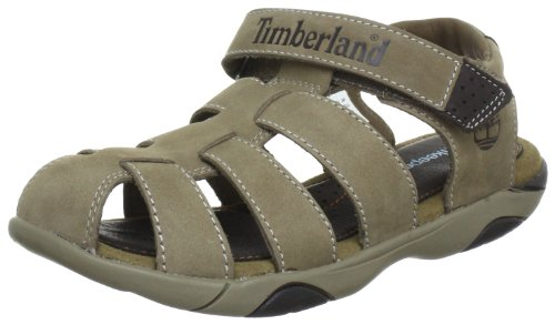 Timberland Oyster River Fisherman Greige Casual Sandals 80983 5.5 UK Youth