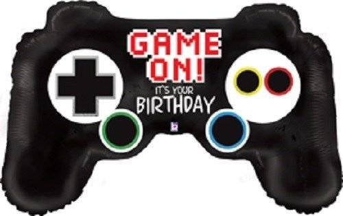"36"" Video Game Controller Mylar Balloon"