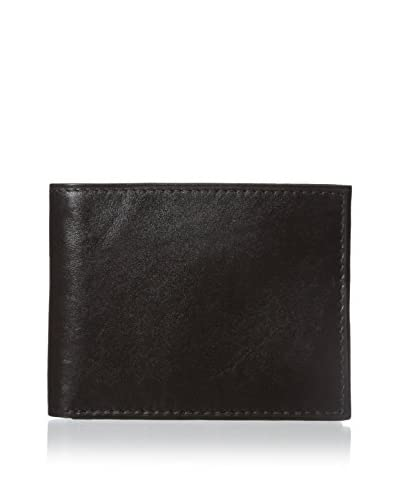 Steve Madden Men's Glove Slimfold Wallet, Brown, One Size