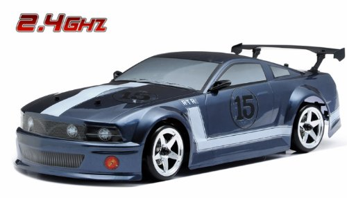 Exceed RC 2.4Ghz MadSpeed Drift King 1/10 Electric Ready to Run Drift Car (FMG-Dark Gray)