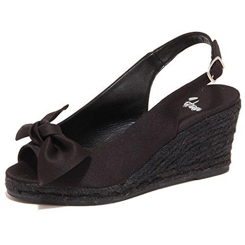 3350P sandalo donna CASTANER nero shoe sandal woman [36]
