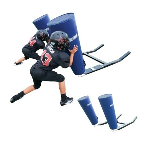 Youth Football Sled - Cone Pad Royal - Five Man (5 Man Football Sled compare prices)