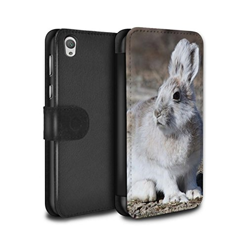 stuff4-pu-leder-hulle-case-tasche-cover-fur-sony-xperia-e5-weiss-arktis-hase-muster-arktis-tiere-kol