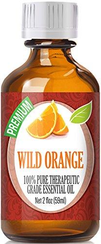 Wild Orange (60ml) 100% Pure, Best Therapeutic Grade Essential Oil - 60ml / 2 (oz) Ounces