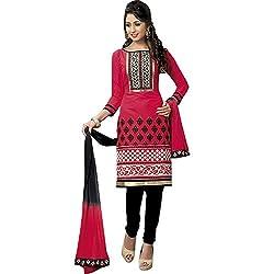 ZofianaFashions Cotton Embroidered Salwar Suit Dupatta Material (POS16)