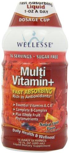 WELLESSE - MULTIVITAMIN+ - SANTE ET BIEN-ETRE