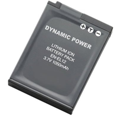 Nikon Coolpix AW100 Digital Camera Battery Lithium-Ion (1050 mAh) - Replacement for Nikon EN-EL12 Battery