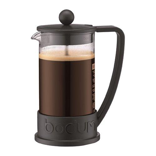 Bodum Brazil French Press 3 Cup Coffee Maker Cafetiere 0.35L / 12Oz Black