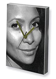 THANDIE NEWTON - Canvas Clock (LARGE A3 - Signed by the Artist) #js005