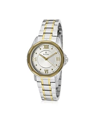 Bulova Women's 98L166 Dress Round Bracelet Watch