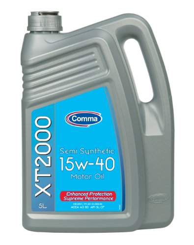 Comma XT25L 5L XT2000 Semi Synthetic 15W40 Motor Oil