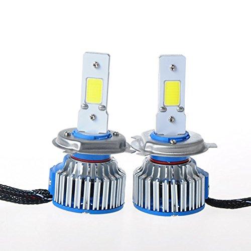 Suparee 60W H4 H/L Epistar Cob Led Headlight Fog Light 6400Lm Drl White Igniters Leds Headlights Led Conversion Kit