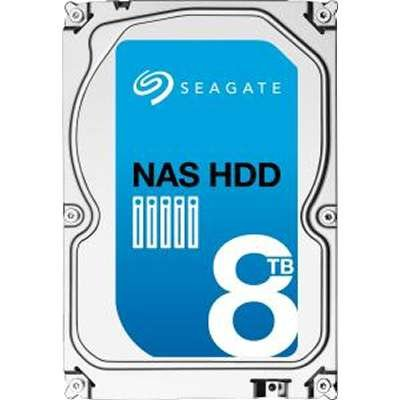 Seagate ST8000VN0012 8TB NAS Hard Disk Drive SATA 7200 RPM 256MB 3.5 inch (Seagate 8tb Personal Cloud compare prices)