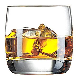 Vigne Nordic Tumblers 7oz / 200ml | Pack of 6 | Whiskey Tumblers, Whisky Tumblers, Old Fashioned Tumblers | Kwarx Glassware | Arc Glassware | Vigne Old Fashioned Glasses