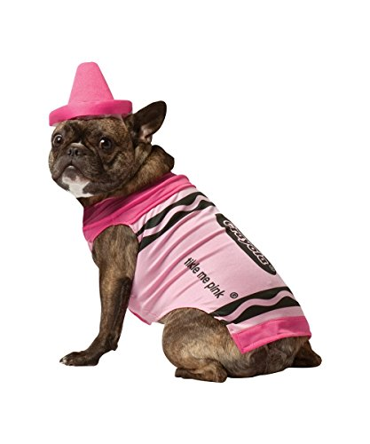 Wmu - Pet Costume Crayola Pink Large [Misc.] front-42079