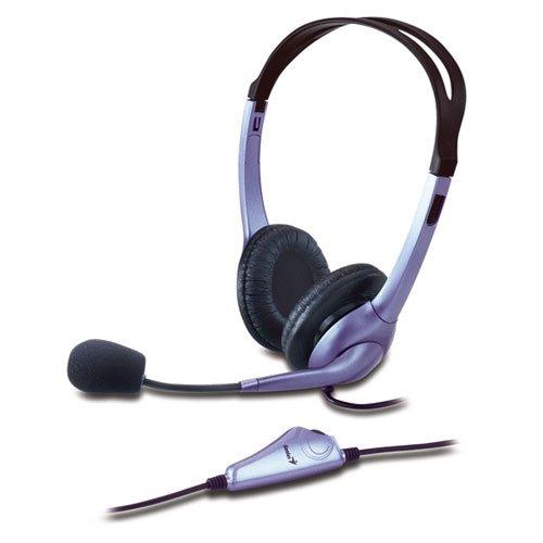Genius HS-04S Kopfhörer mit Noise-canceling Mikrofon