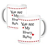 ToduGift You are my honey bunny Ceramic Mug