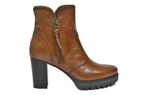 Nero Giardini Tronchetti scarpe donna cuoio 6431 A616431D 39